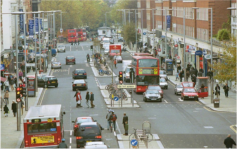 Road Divider Design Kerbed Divider is Designed