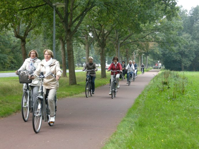 Safe cycling in Assen