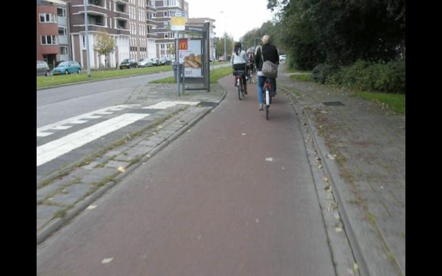 A busier location, in Groningen