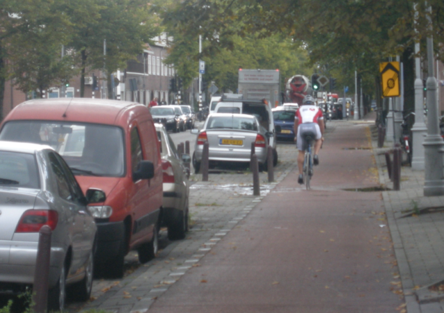 A roadie in Amsterdam
