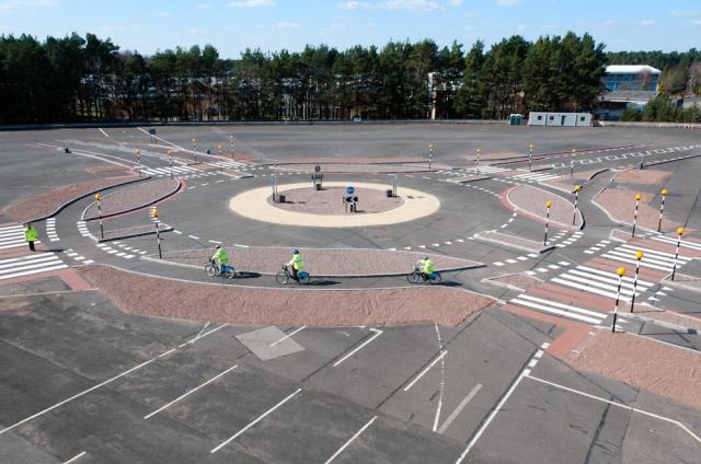 Dutch Style Roundabout