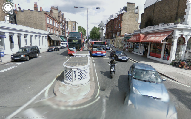 Google Streetview, acting as a handy time machine