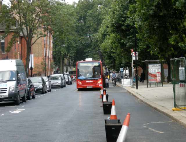Royal College Street bus stop