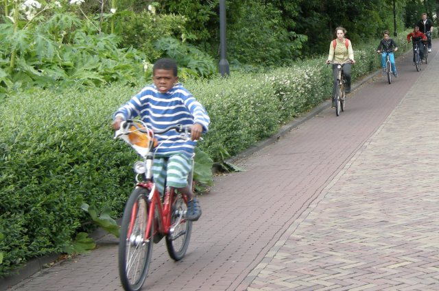 Safe cycling in Utrecht