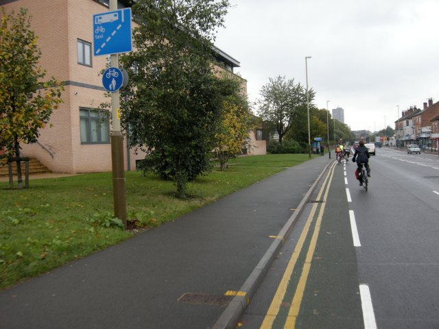 What catering for 'different cyclists' looks like in practice
