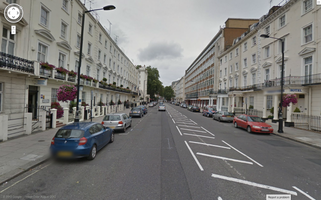 Belgrave Road, courtesy of Google Streetview