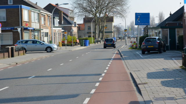 Woudseweg, Delft