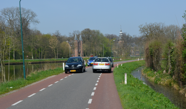 Access road near Breukelen