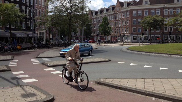 A demographic cycling in Amsterdam, but not cycling in London
