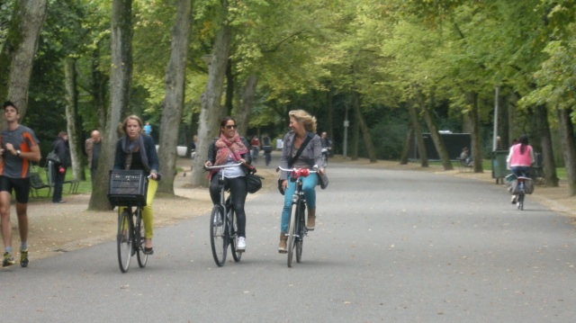 Would these kinds of 'cyclists' be so objectionable on Serpentine Road?