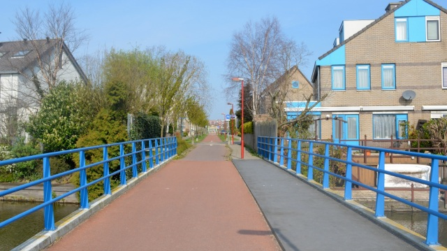 Another walking- and cycling-only route, in Zoetermeer