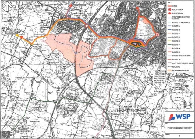West of Horsham development