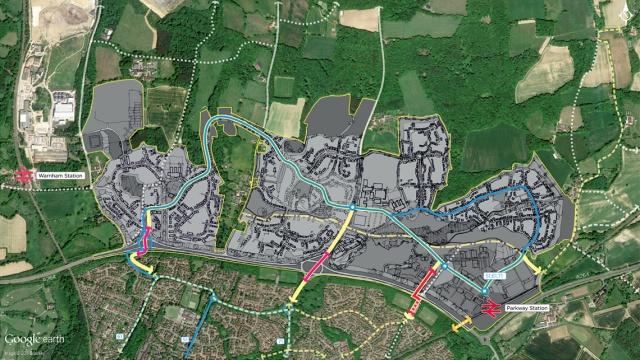 North of Horsham plan