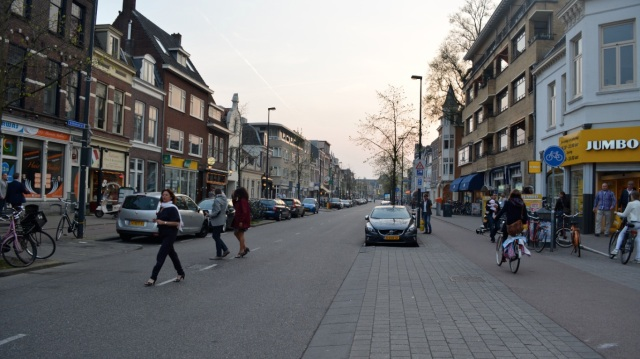 … And a main road in Utrecht.