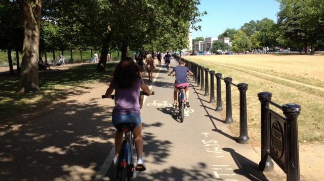 The Rotten Row shared path