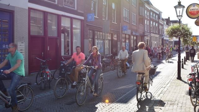 11:30am, on the Oudegracht.