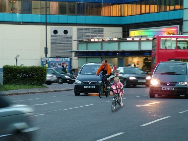 'Young children should be mandated to use cycling infrastructure - otherwise they'll be using the motor traffic lanes, holding us all up!'
