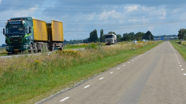 Service road alongside N331 Zwolle