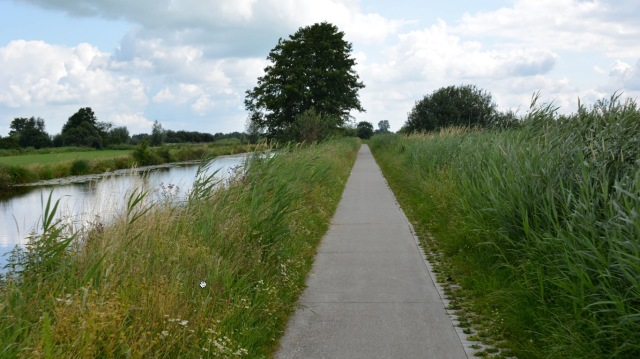 Country cyclepath Meppel