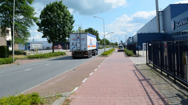 Meppel cycleway tiles