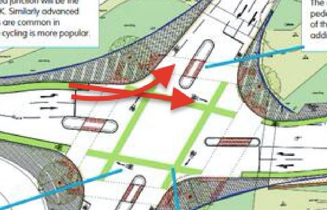 Itchen Bridge plans with conflict