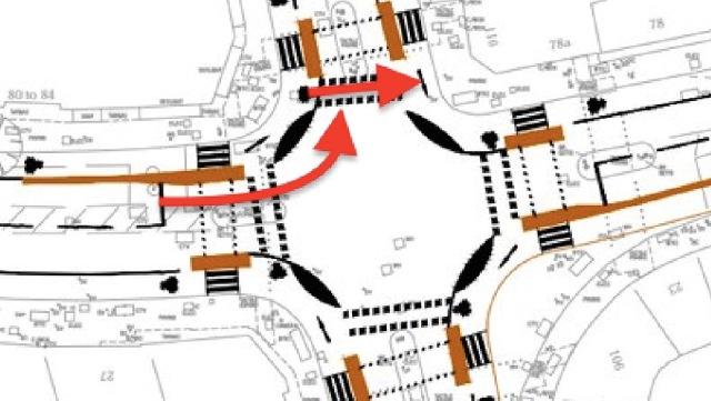St John's Street junction Islington