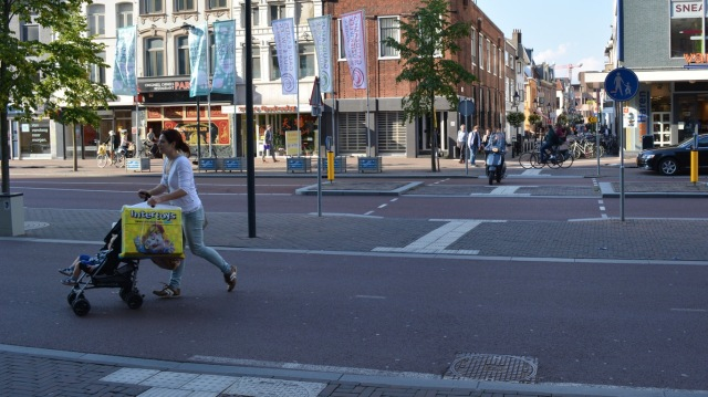 Cycleways don't have to be unattractive, or hard to cross. Just build them properly.