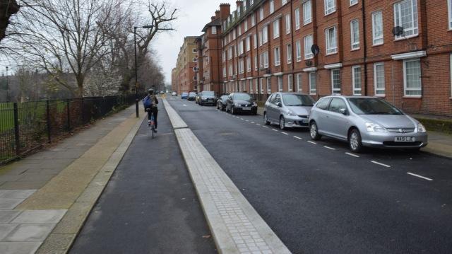 Tabard Street Quietway 1