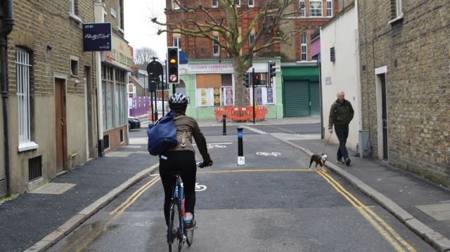 Quietway 1 - Tower Bridge Road crossing