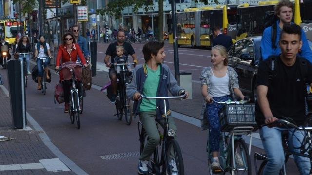 Wheeled pedestrianism