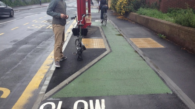 Yes, that is a two-way cycleway