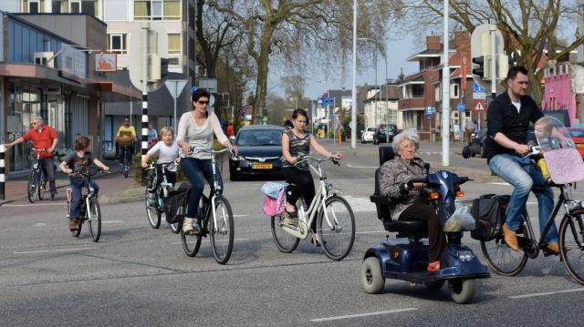 A typical Dutch town