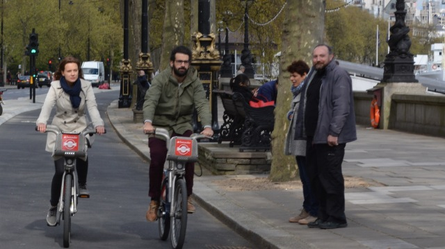 An obvious way to prevent pavement cycling is to create safe, attractive conditions, separate from it