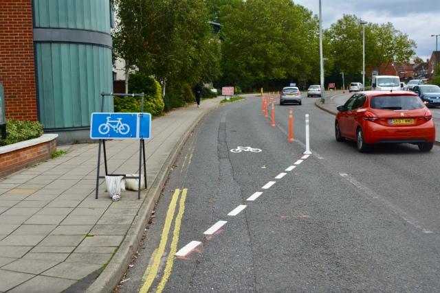 Albion Way Pop-Up Lane